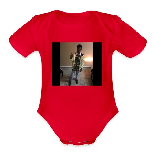 SOUTHSIDEJAY - Organic Short Sleeve Baby Bodysuit