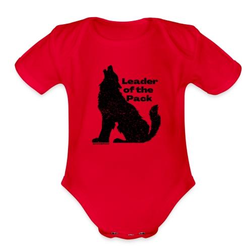 Kid's Leader of the Pack - Organic Short Sleeve Baby Bodysuit