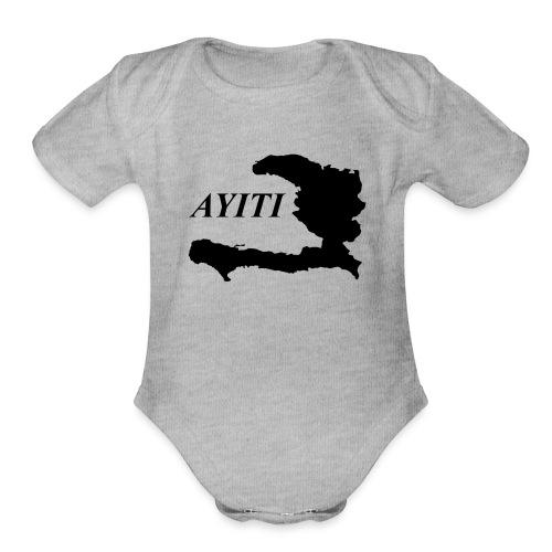 Hispaniola - Organic Short Sleeve Baby Bodysuit