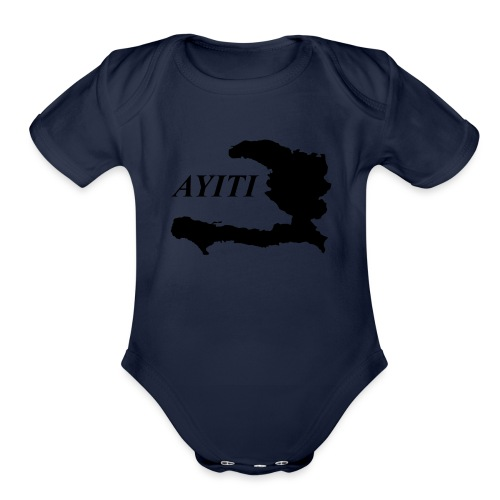 Hispaniola - Organic Short Sleeve Baby Bodysuit