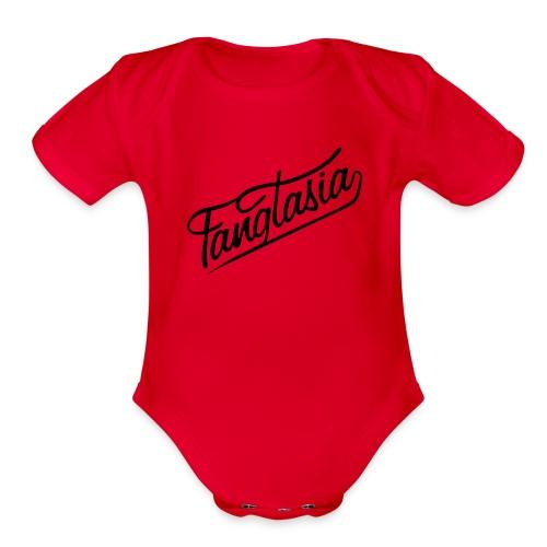 fantastic blmabo - Organic Short Sleeve Baby Bodysuit