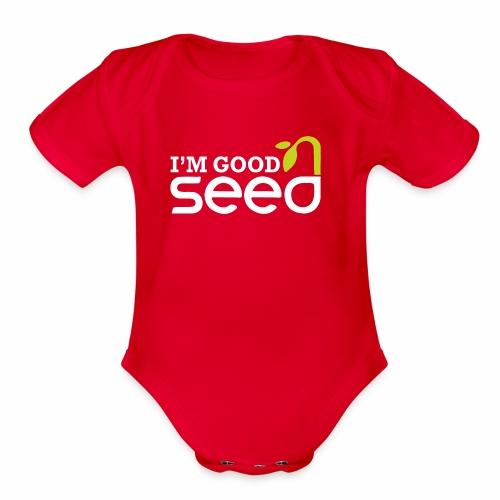 GOOD SEED - Organic Short Sleeve Baby Bodysuit