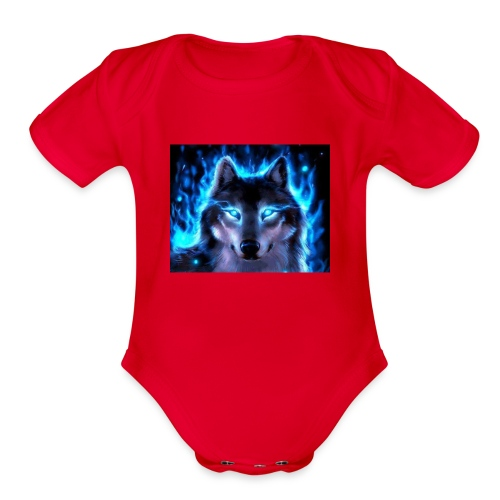 Da'ShawnSanchezMerchlogosoifyouwantonegetit!!!!!!! - Organic Short Sleeve Baby Bodysuit