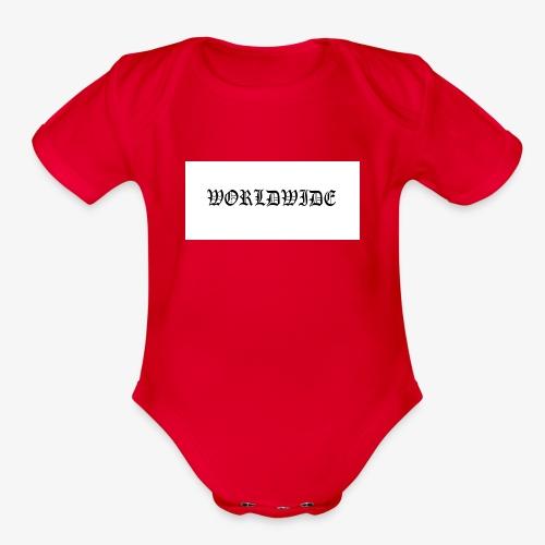 wordlwide - Organic Short Sleeve Baby Bodysuit