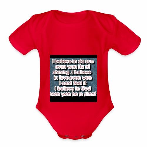 Endy 20160611 233858 - Organic Short Sleeve Baby Bodysuit