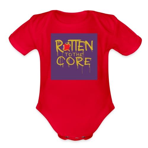 Core - Organic Short Sleeve Baby Bodysuit