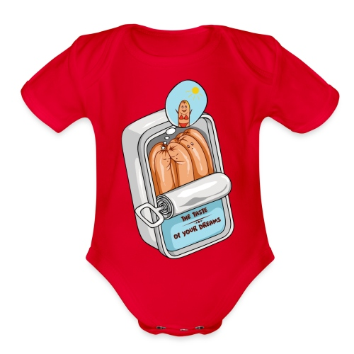 The taste of your dreams - Organic Short Sleeve Baby Bodysuit