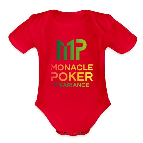 color logo transparent - Organic Short Sleeve Baby Bodysuit