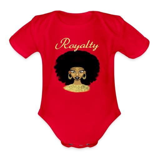 Akyra's Royalty - Organic Short Sleeve Baby Bodysuit
