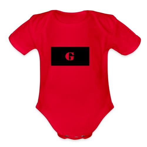 Glogo - Organic Short Sleeve Baby Bodysuit