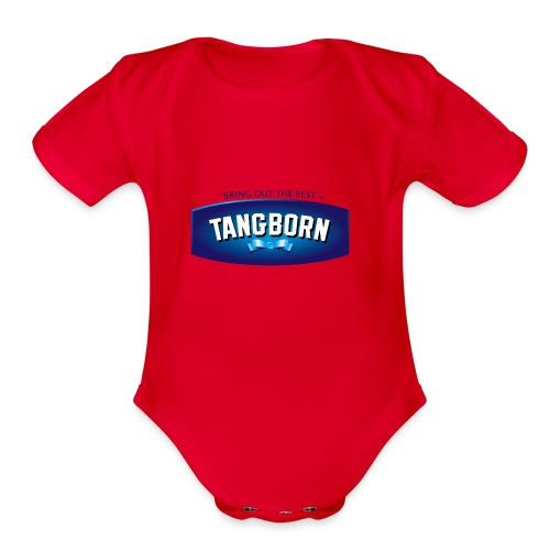 Tangborn Real Mayo - Organic Short Sleeve Baby Bodysuit