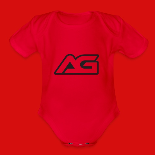 AG MERCH - Organic Short Sleeve Baby Bodysuit