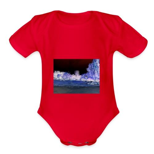 Mirage - Organic Short Sleeve Baby Bodysuit