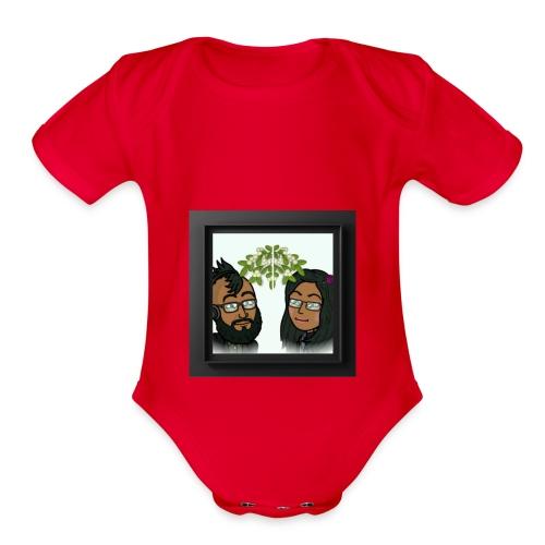 POLA 20171224 010836 - Organic Short Sleeve Baby Bodysuit