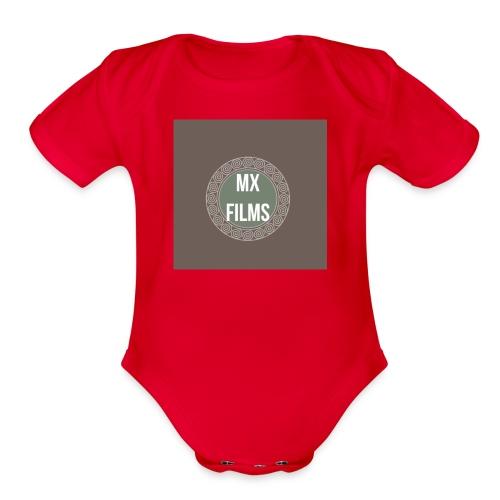 90EA327A 7998 405A 8DF7 8E5FC0BA9ED9 - Organic Short Sleeve Baby Bodysuit