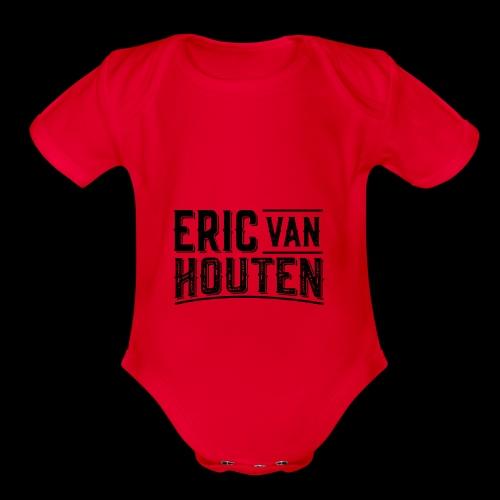 EVH RusticType - Organic Short Sleeve Baby Bodysuit