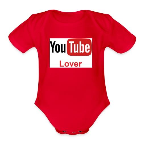 youtube - Organic Short Sleeve Baby Bodysuit