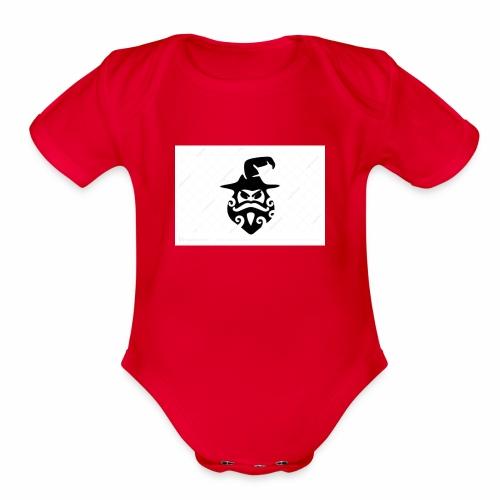 wizardy - Organic Short Sleeve Baby Bodysuit