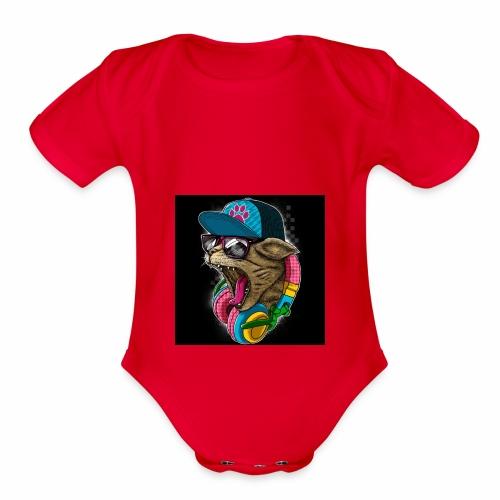B84BFBE5 D095 47AF 8BEC F5E583CCC390 - Organic Short Sleeve Baby Bodysuit