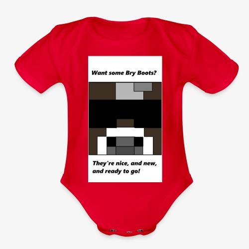 shirt - Organic Short Sleeve Baby Bodysuit