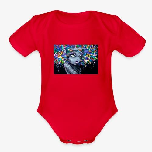 10000 - Organic Short Sleeve Baby Bodysuit