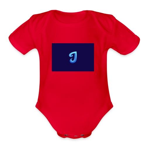 Jeury - Organic Short Sleeve Baby Bodysuit