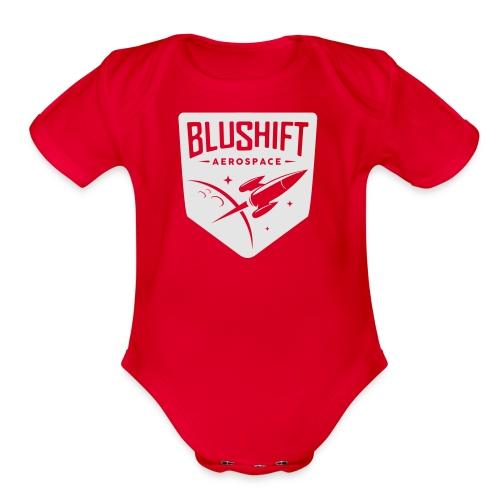 BluShift Logo - Organic Short Sleeve Baby Bodysuit