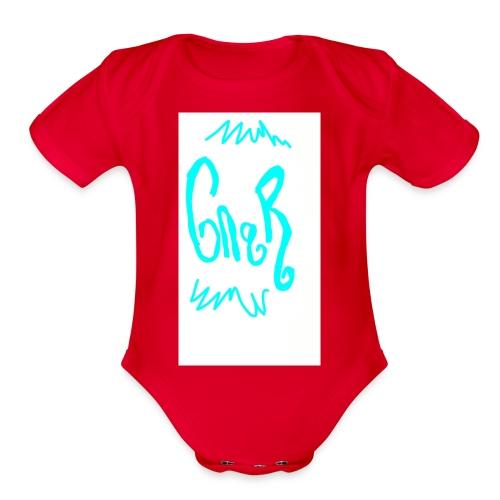 GNAR - Organic Short Sleeve Baby Bodysuit