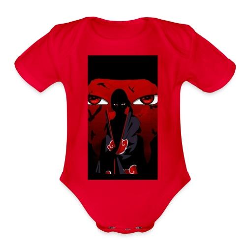 Itachi 2 - Organic Short Sleeve Baby Bodysuit