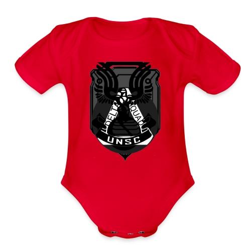 Delta Emblem - Organic Short Sleeve Baby Bodysuit