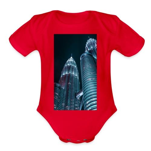 C0618608 28FC 4668 9646 D9AC4629B26C - Organic Short Sleeve Baby Bodysuit