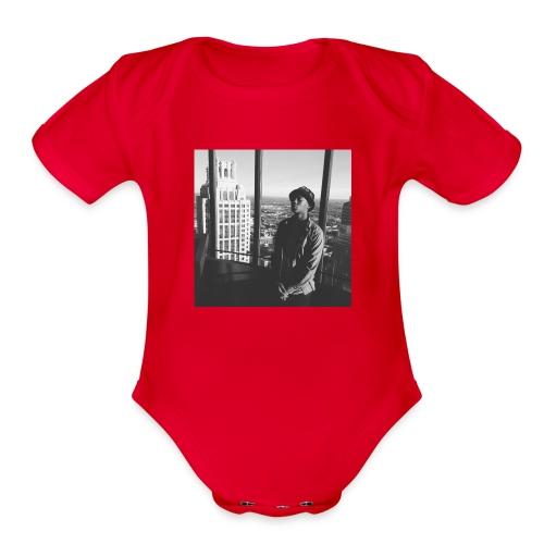 Eli Sway Goals merchandise - Organic Short Sleeve Baby Bodysuit