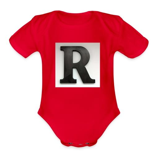 UPrun - Organic Short Sleeve Baby Bodysuit