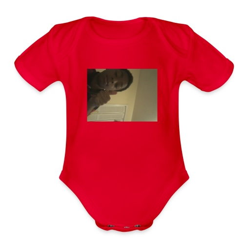 Jesiah cash shirts - Organic Short Sleeve Baby Bodysuit
