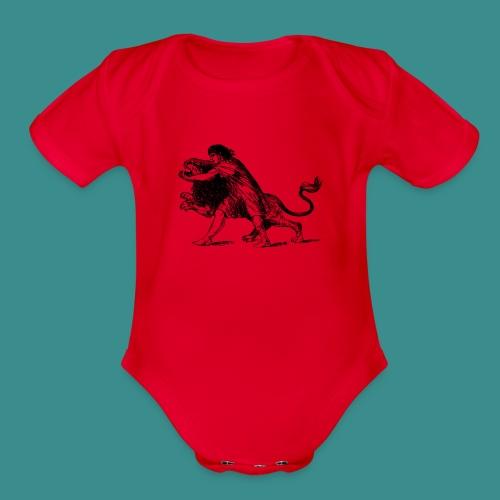 Fighter - Organic Short Sleeve Baby Bodysuit