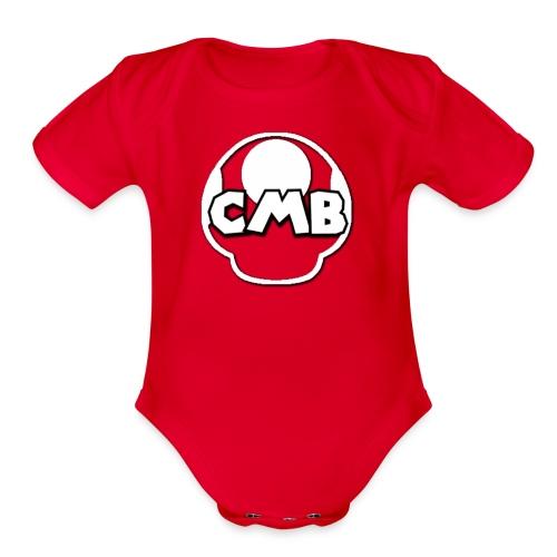 CMB Merch - Organic Short Sleeve Baby Bodysuit