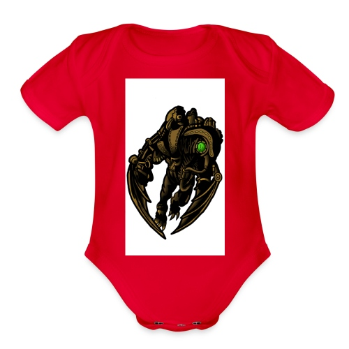 Song Bird - Organic Short Sleeve Baby Bodysuit