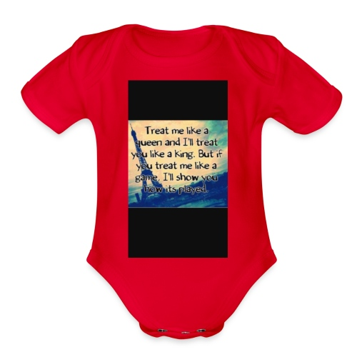 27E0C834 A0C3 4F22 A50F CE305AEAAEF4 - Organic Short Sleeve Baby Bodysuit
