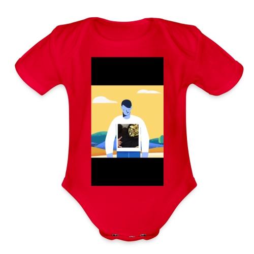 CED458BC 8577 4268 B7C3 1C5F4DFBF04C - Organic Short Sleeve Baby Bodysuit