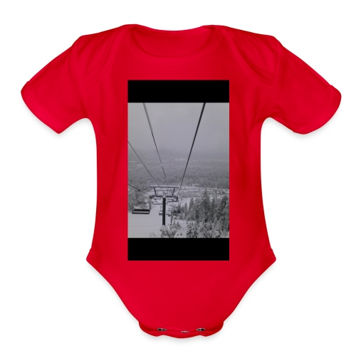 D0BFF902 77AB 4727 8EBA 986CCAA0E68F - Organic Short Sleeve Baby Bodysuit