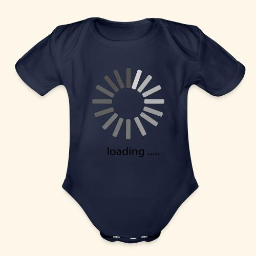 poster 1 loading - Organic Short Sleeve Baby Bodysuit