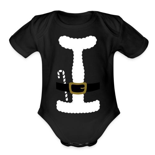 I LOVE SANTA CLAUS - Toddler T-Shirt - Organic Short Sleeve Baby Bodysuit