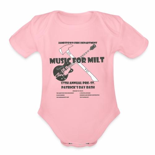 2018 Pre-St. Patricks Day Bash - Organic Short Sleeve Baby Bodysuit