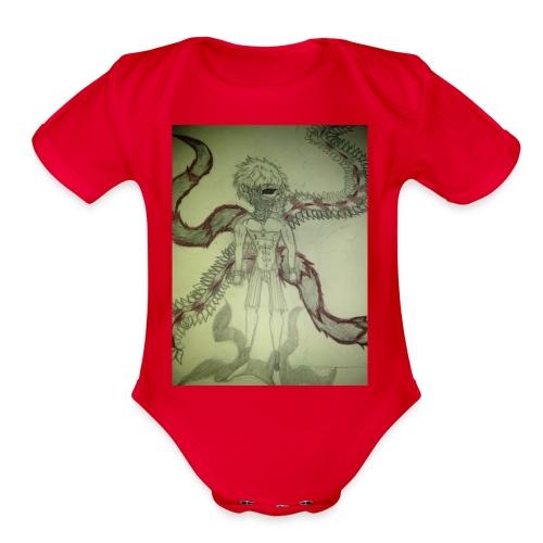 DRAGONS OG - Organic Short Sleeve Baby Bodysuit