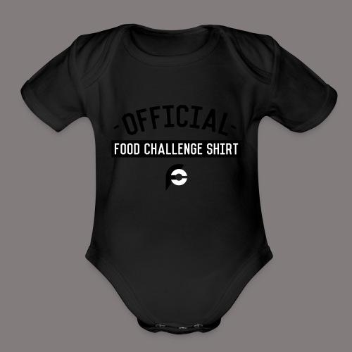 Official Food Challenge Shirt 1 - Organic Short Sleeve Baby Bodysuit