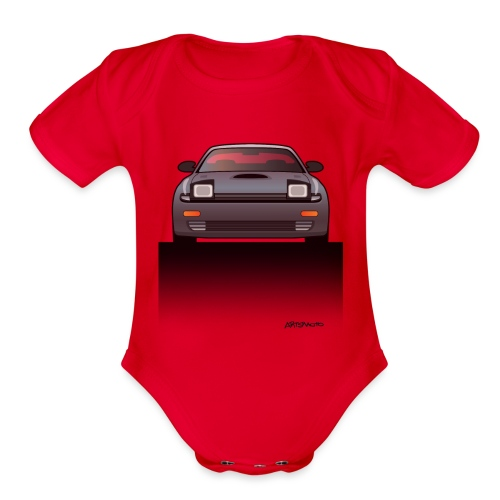 Toyota Celica GT Four All Trac Turbo ST185 - Organic Short Sleeve Baby Bodysuit