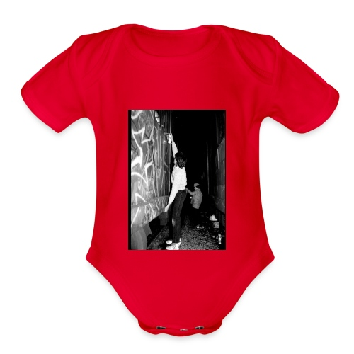 GRAFFITI CULTURE - Organic Short Sleeve Baby Bodysuit