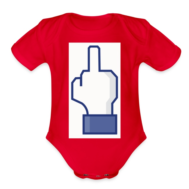 facebook middle finger di