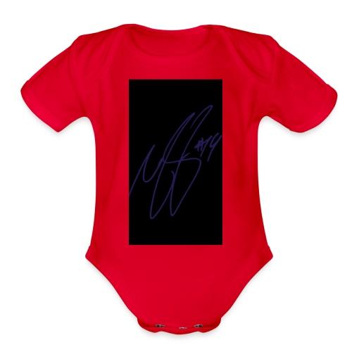 MKG - Organic Short Sleeve Baby Bodysuit