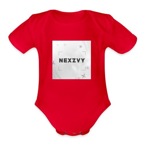 Nexzvy - Organic Short Sleeve Baby Bodysuit